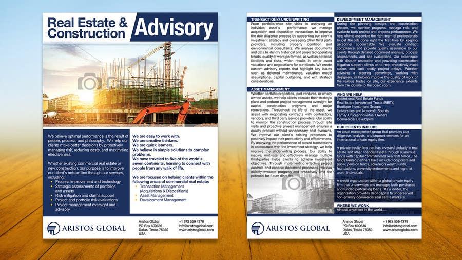 marketing flyer for xyz construction
