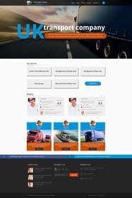 logodesire tarafından Design a Website Mockup Must be user friendly 1 page fun site for tranport company için no 11