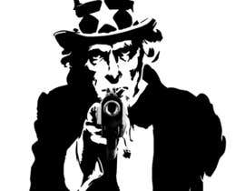 VikeshAgravat tarafından Design Uncle Sam Gangster için no 10