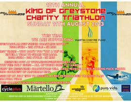 #3 for Design a Flyer for a triathlon by ElizaRabiniuc