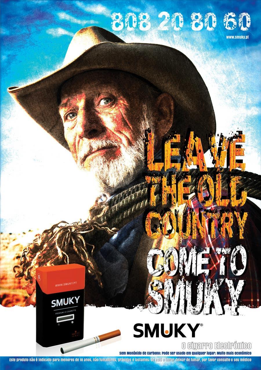 Konkurrenceindlæg #                                        110                                      for                                         Magazine Advertisement for SMUKY