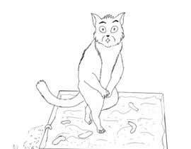 #25 untuk CatCommode Cartoon oleh LunixArt