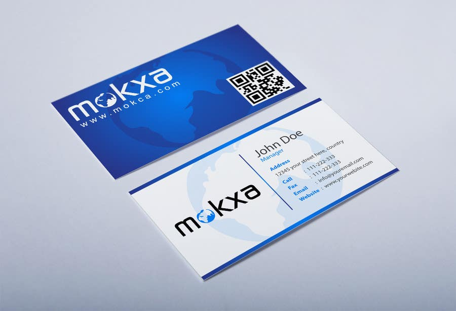 #28 for Design some Business Cards for Mokxa Technologies LLC by HammyHS