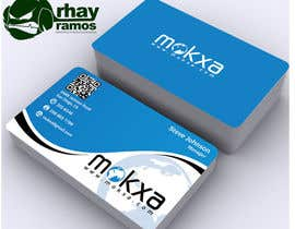 rhayramos11 tarafından Design some Business Cards for Mokxa Technologies LLC için no 24