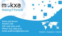 Contest Entry #16 for Design some Business Cards for Mokxa Technologies LLC