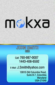 #17 for Design some Business Cards for Mokxa Technologies LLC by itsmejiminsigne