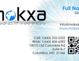 #23 para Design some Business Cards for Mokxa Technologies LLC por ellieromark