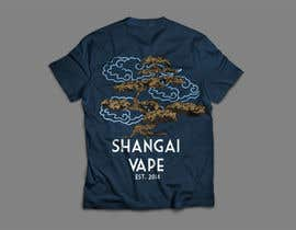 oscardavidalzate tarafından Design a T-Shirt for Shanghai Vape! için no 8