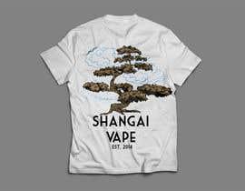 oscardavidalzate tarafından Design a T-Shirt for Shanghai Vape! için no 9