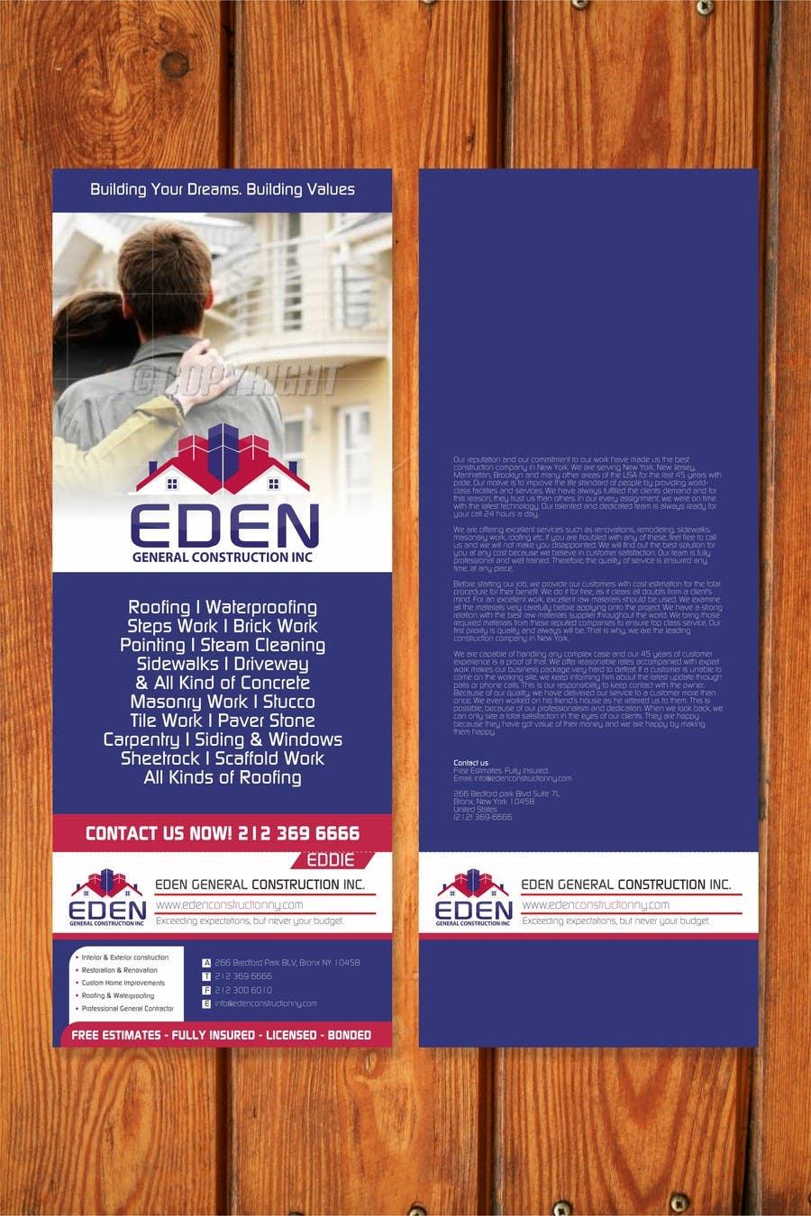 Bài tham dự cuộc thi #                                        13                                      cho                                         Design a Flyer for a general contractor
