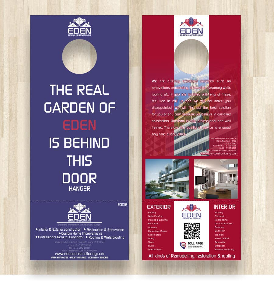 Bài tham dự cuộc thi #                                        27                                      cho                                         Design a Flyer for a general contractor