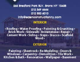 #6 for Design a Flyer for a general contractor by ajdellosa08
