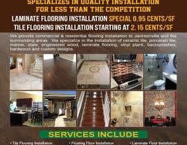 #9 untuk Design a Flyer - Flooring Installation Company oleh teAmGrafic