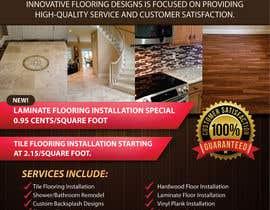 #7 untuk Design a Flyer - Flooring Installation Company oleh cristinaDPI