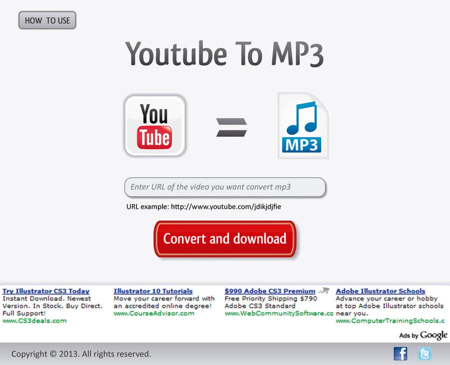 #49 for Youtube to MP3 Converter Website by macper