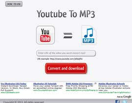 #49 for Youtube to MP3 Converter Website af macper