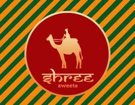 Nro 16 kilpailuun Design a Logo, tag line and a mascot for my Indian Sweets shop käyttäjältä fabriscribbles