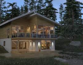 #33 untuk 3D model of Country house oleh Alexnap
