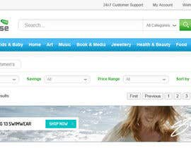 #39 for Design a Header for Wordpress Ecommerce Website by alpyraj81