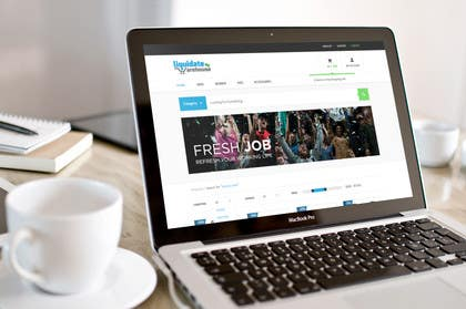 #57 for Design a Header for Wordpress Ecommerce Website by johnkodes