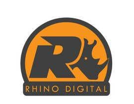 #10 untuk Redesign a Logo for Rhino Digital -- 2 oleh hijordanvn