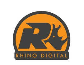 hijordanvn tarafından Redesign a Logo for Rhino Digital -- 2 için no 10