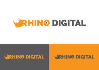 #45 untuk Redesign a Logo for Rhino Digital -- 2 oleh farooqshahjee