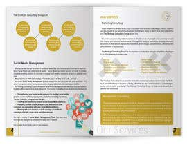 #10 untuk Put together a brochure for The Strategic Consulting Group oleh AndreiZorilaTM