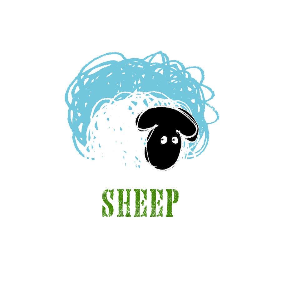 Sheep logo design