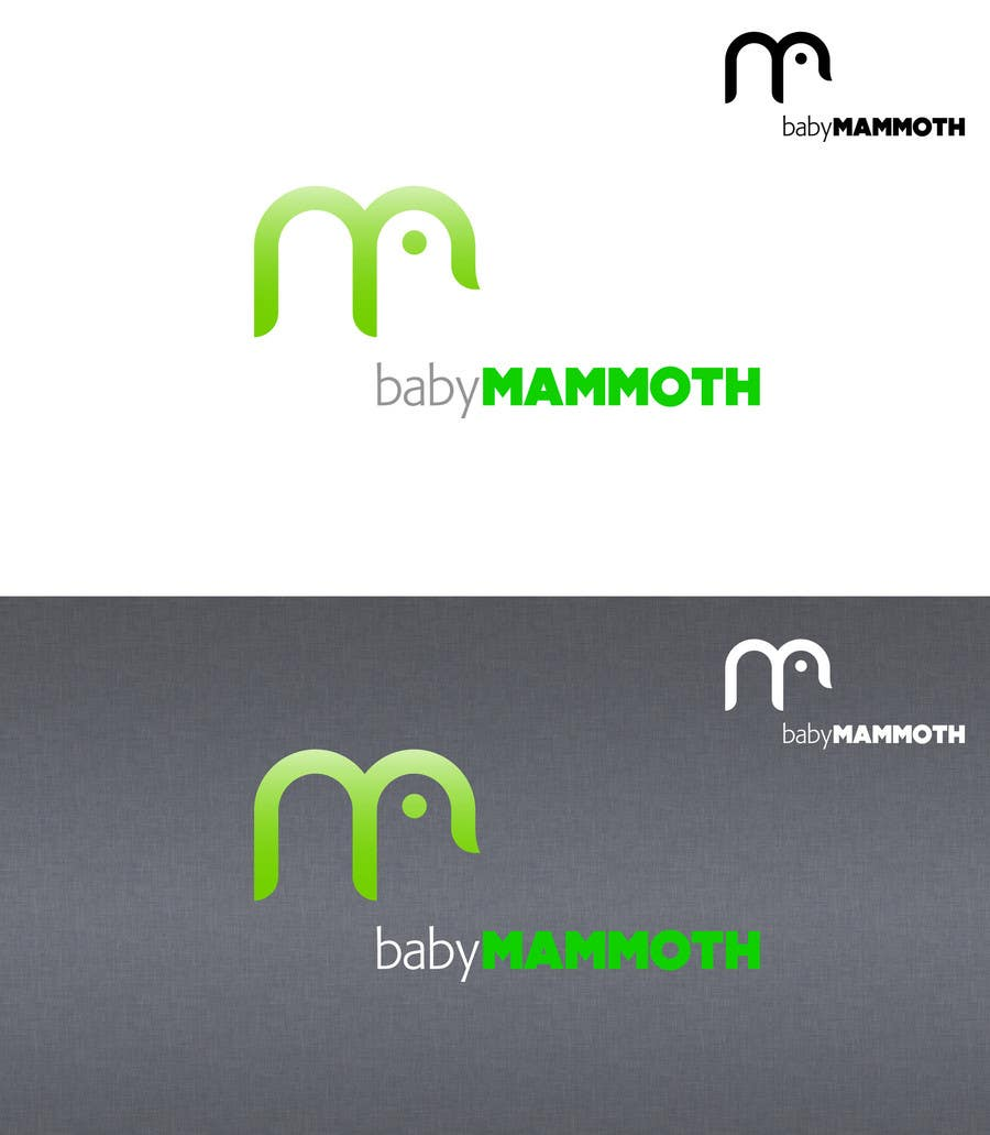 #77 for Design a Logo for Baby Mammoth! by HallidayBooks
