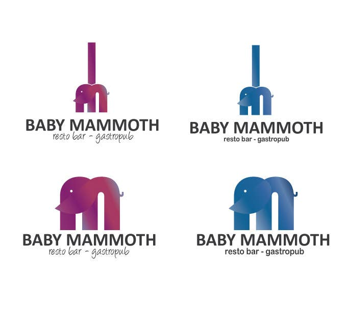 #91 for Design a Logo for Baby Mammoth! by DandelionLab