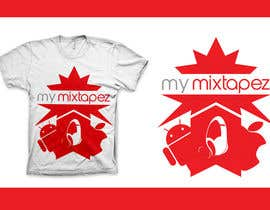 nº 19 pour Design a T-Shirt for My mixtapez par xcerlow