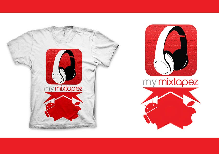#20 for Design a T-Shirt for My mixtapez by xcerlow