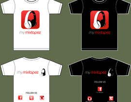 nº 21 pour Design a T-Shirt for My mixtapez par soorajpremsooraj