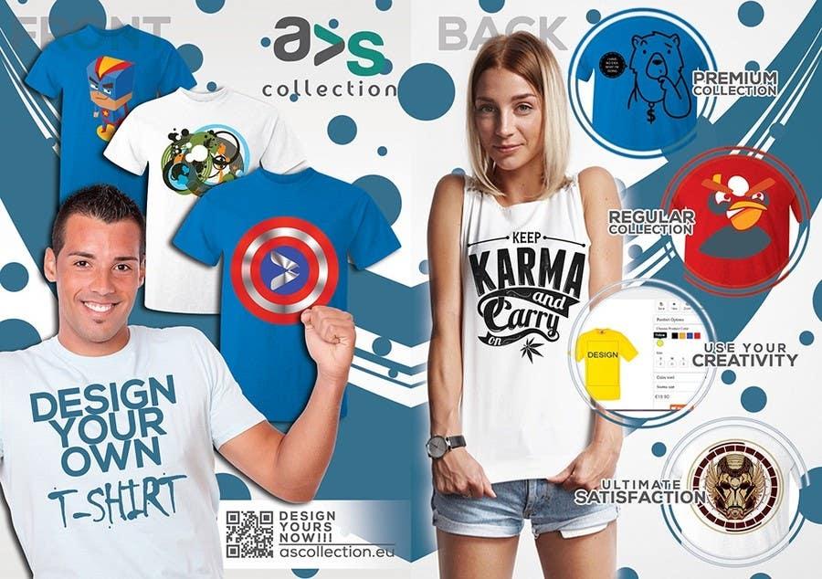 Penyertaan Peraduan #9 untuk Design a Flyer for a online shop