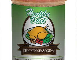 #32 untuk Fast & easy job, making a label design for natural seasoning oleh rahulsagardesign