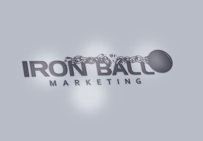 #90 untuk Design a Logo for  Iron Ball  Marketing oleh javedg