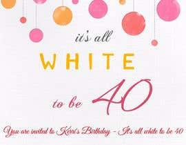 "sankalpgarg tarafından It's all ""White"" to be 40 için no 13"