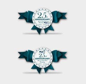 #16 untuk 25th Anniversary Decal oleh AbanobA