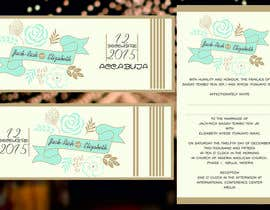 #8 for I need some Graphic Design for wedding card by odykiy