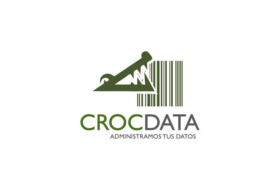 Penyertaan Peraduan #68 untuk Logo for CrocDATA a website for barcodes