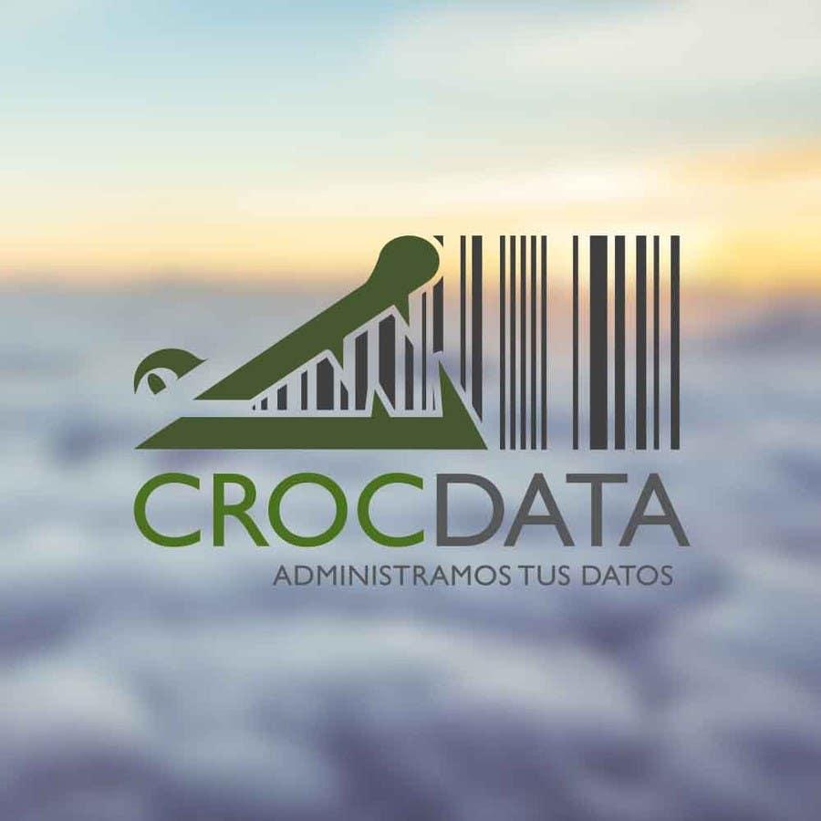 Penyertaan Peraduan #110 untuk Logo for CrocDATA a website for barcodes