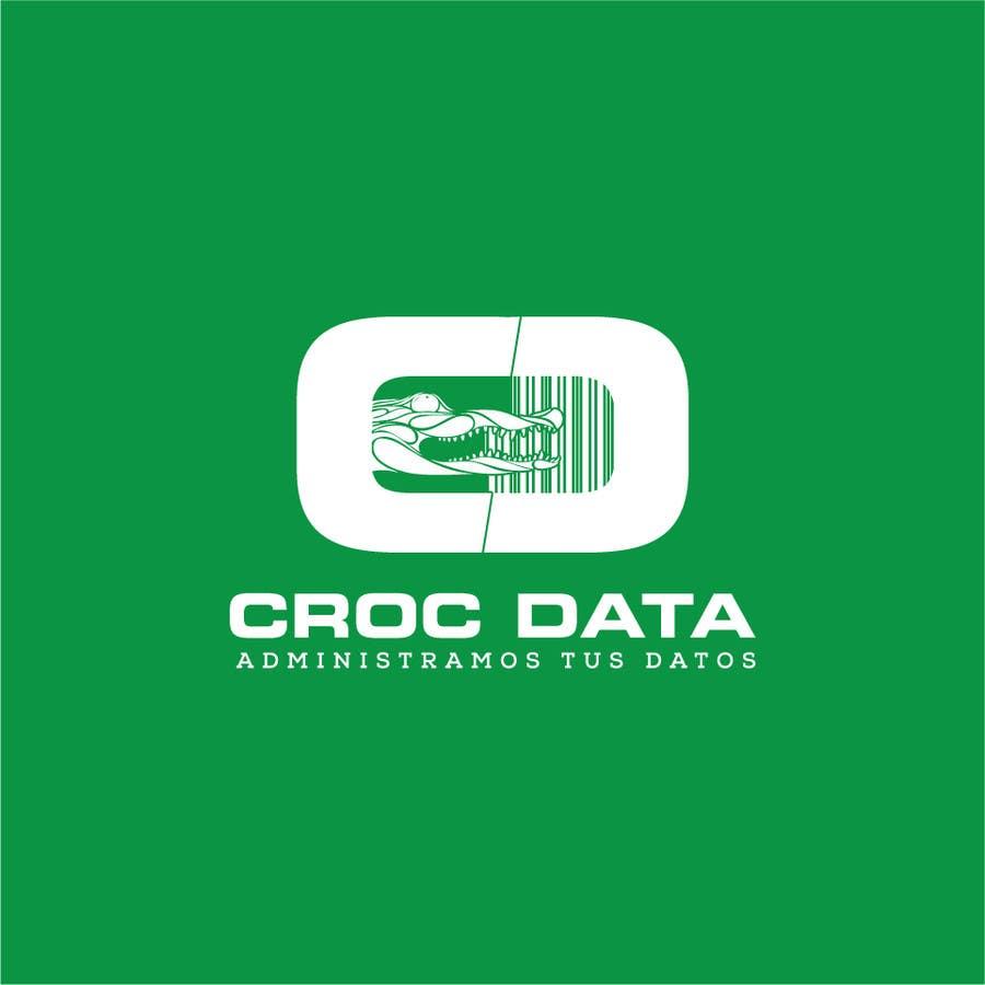 Penyertaan Peraduan #47 untuk Logo for CrocDATA a website for barcodes