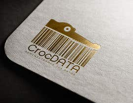 #117 for Logo for CrocDATA a website for barcodes by fadishahz