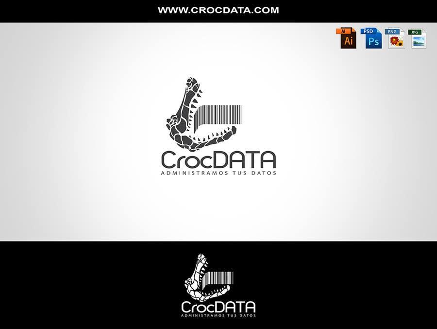 Penyertaan Peraduan #26 untuk Logo for CrocDATA a website for barcodes