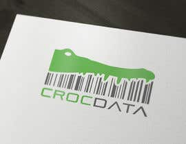 #105 for Logo for CrocDATA a website for barcodes by amauryguillen
