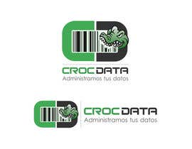#31 untuk Logo for CrocDATA a website for barcodes oleh dandrexrival07
