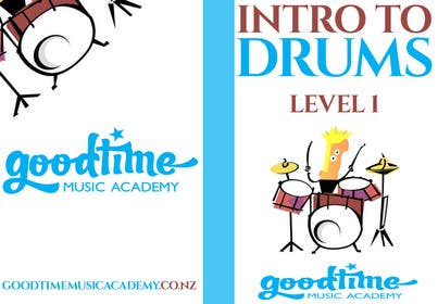 #23 untuk Book cover and certificate for Goodtime Music Academy oleh papaweb10