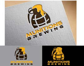 #21 для Munitions Brewing Logo Contest от zidlez
