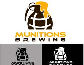 #23 для Munitions Brewing Logo Contest от zidlez